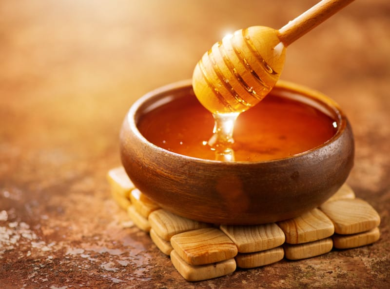 Honey for anti-aging skincare