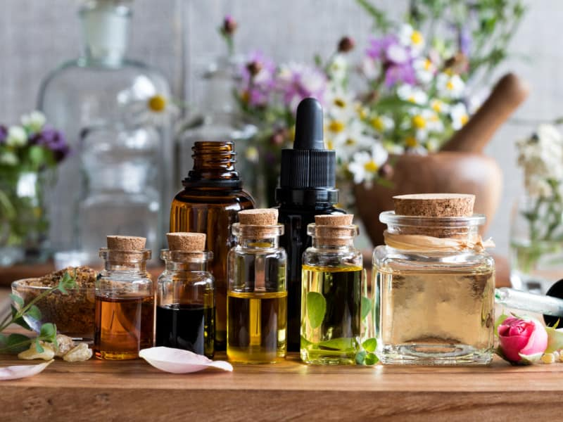 Essential face oils