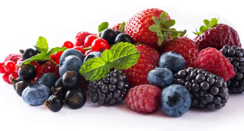 Berries for anti-aging skincare