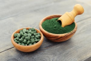 Spirulina as anti-aging supplement
