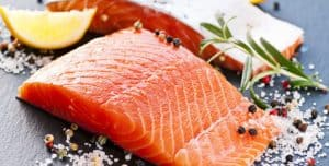 Fish for skin health