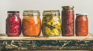 Fermented food for gut health